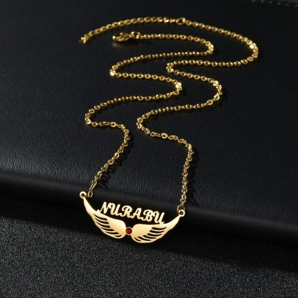 Flying waves Specially for gift Golden Necklace