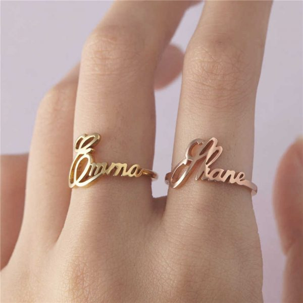 Luxury Engraved Geniune Wedding Engagement Rings Super Shiny
