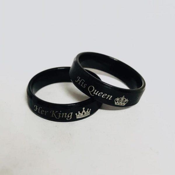 Black Couple Crown Challa
