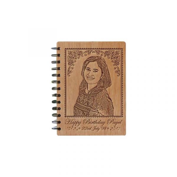 Engraved Notebook