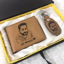 picture wallet & keychain