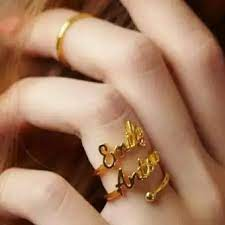 Personalized engraved rings - Special girl
