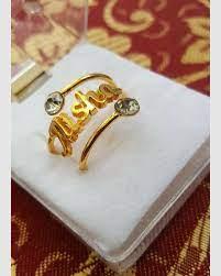 engraved rings - top hot selling 2021